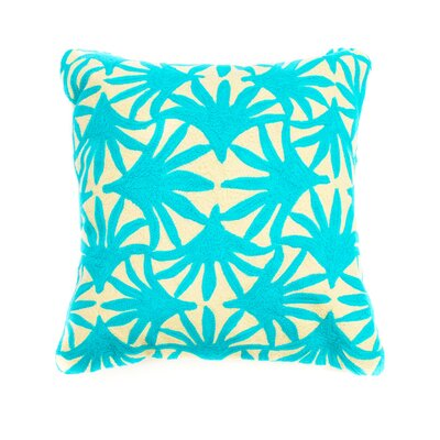 Bright and Fresh Monetree Cotton Throw Pillow