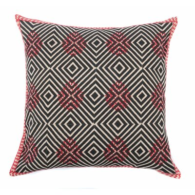 Diamond Pop Cotton Throw Pillow