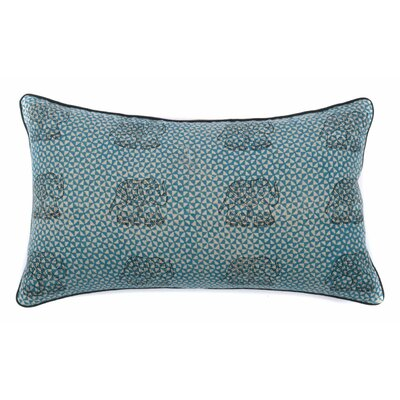 Royal Elephant Cotton Lumbar Pillow