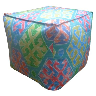 Crayon Pouf Upholstery: Teal