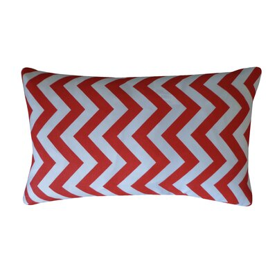 Siobhan Indoor/Outdoor Pillow in Red Size: 20 x 20