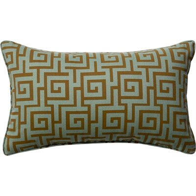 Puzzle Outdoor Lumbar Pillow Color: Grey