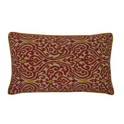 Geane Lumbar Pillow Color: Garnet