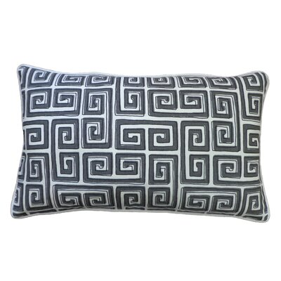 Coil Lumbar Pillow Color: Grey