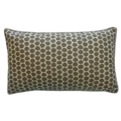 Splotch Pillow Color: Taupe