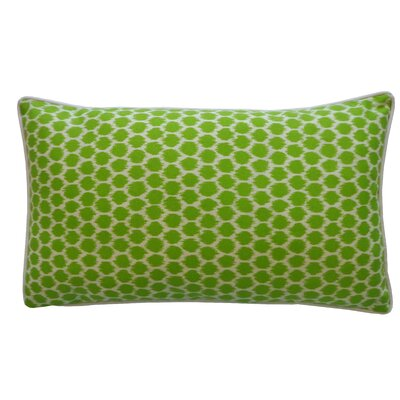 Splotch Pillow Color: Green