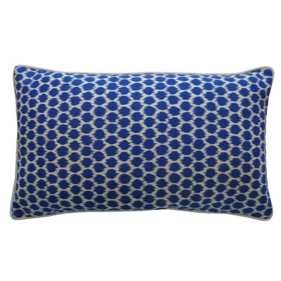 Splotch Pillow Color: Blue