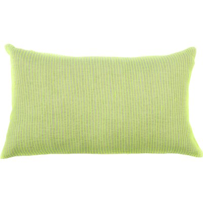 Neon Lines Cotton Lumbar Pillow Color: Yellow
