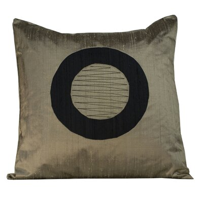 Washer Silk Throw Pillow Color: Light Brown