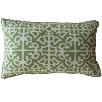 Malibu Indoor/Outdoor Lumbar Pillow Color: Green