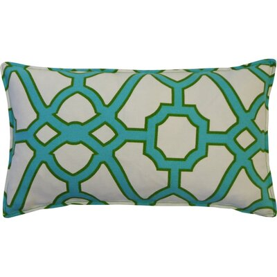 Stacey Indoor/Outdoor Lumbar Pillow Color: Green