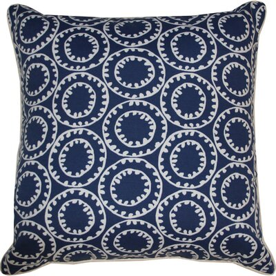Sophia Indoor/Outdoor Throw Pillow Color: Navy