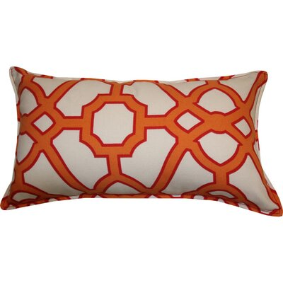 Stacey Indoor/Outdoor Lumbar Pillow Color: Orange