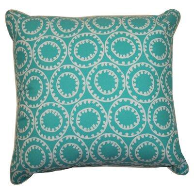 Sophia Indoor/Outdoor Throw Pillow Color: Turquoise
