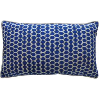 Claudia Indoor/Outdoor Lumbar Pillow Color: Blue