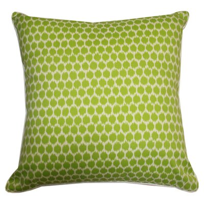 Claudia Indoor/Outdoor Throw Pillow Color: Green