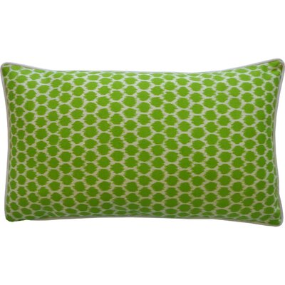 Claudia Indoor/Outdoor Lumbar Pillow Color: Green