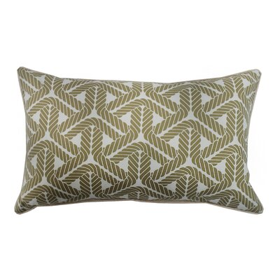 Rope Lumbar Pillow Color: Taupe