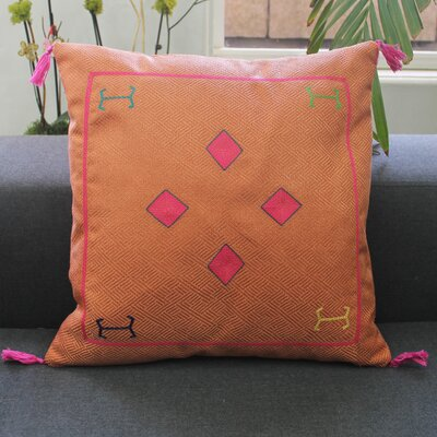 Cactus Kilim Throw Pillow