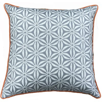 Anise Throw Pillow Color: Gray