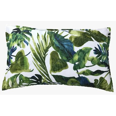 Fidelia Outdoor Lumbar Pillow Color: Green