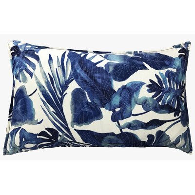 Fidelia Outdoor Lumbar Pillow Color: Blue