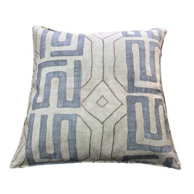 Breton 100% Cotton Floor Pillow Color: Taupe