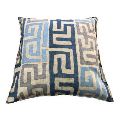 Whitley 100% Cotton Floor Pillow Color: Blue