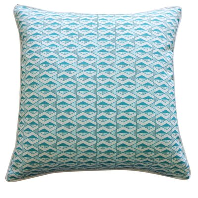 Pementel Outdoor Throw Pillow Color: Teal
