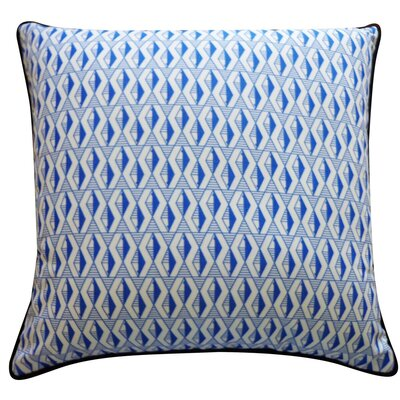 Pementel Outdoor Throw Pillow Color: Blue