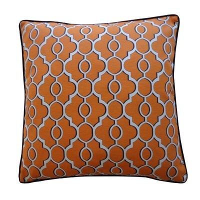 Amani Outdoor Throw Pillow Color: Orange