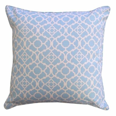 Lakefront Moroccan Outdoor Throw Pillow