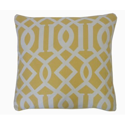 Tybalt Lattice Outdoor Throw Pillow