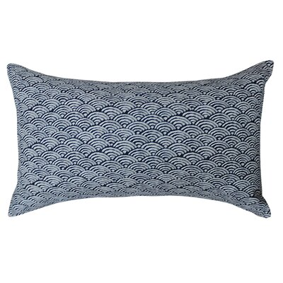 Kioto Fan Cotton Lumbar Pillow
