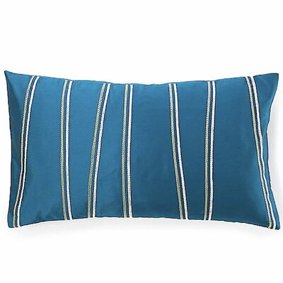 Diagonal Lumbar Pillow Color: Blue