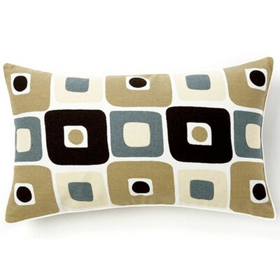Geo Cotton Lumbar Pillow