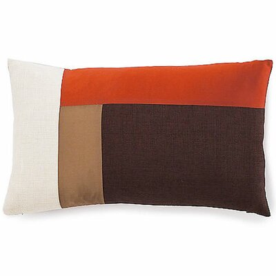 Montana Cotton Lumbar Pillow Color: Earth