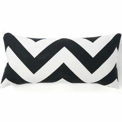 African Zag Cotton Lumbar Pillow