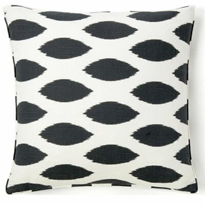 African Spot Cotton Throw Pillow