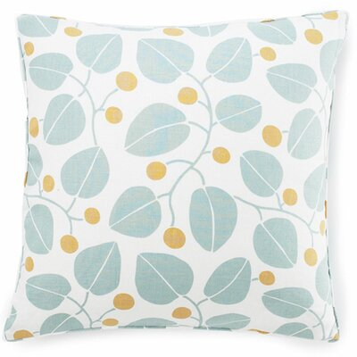 Bethe Leaves Cotton Throw Pillow