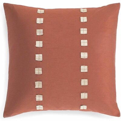 Dibb Silk Throw Pillow