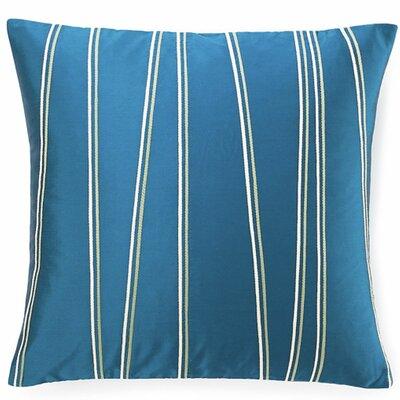 Diagonal Throw Pillow Color: Blue