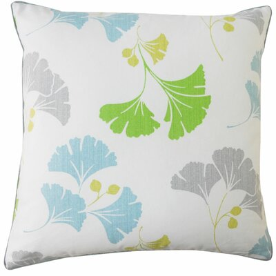 Gingko Cotton Throw Pillow