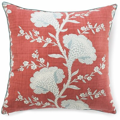 Geisha Cotton Throw Pillow Color: Rouge