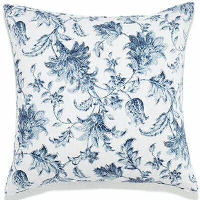 Liz Indoor/Outdoor Throw Pillow Size: 20 x 20, Color: Blue