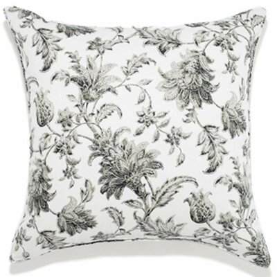 Liz Indoor/Outdoor Throw Pillow Color: Charcoal, Size: 24 x 24