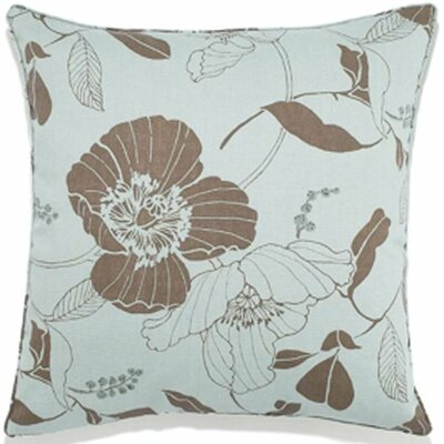 Poppy Indoor/Outdoor Throw Pillow Color: Spa