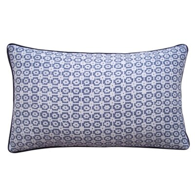 Diana Linen Lumbar Pillow Color: Pewter