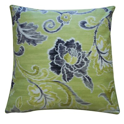 Claire Throw Pillow Color: Lime
