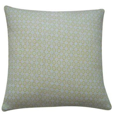 Diana Linen Throw Pillow Color: Lemon